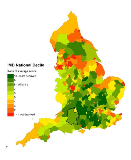 IMD national deciles